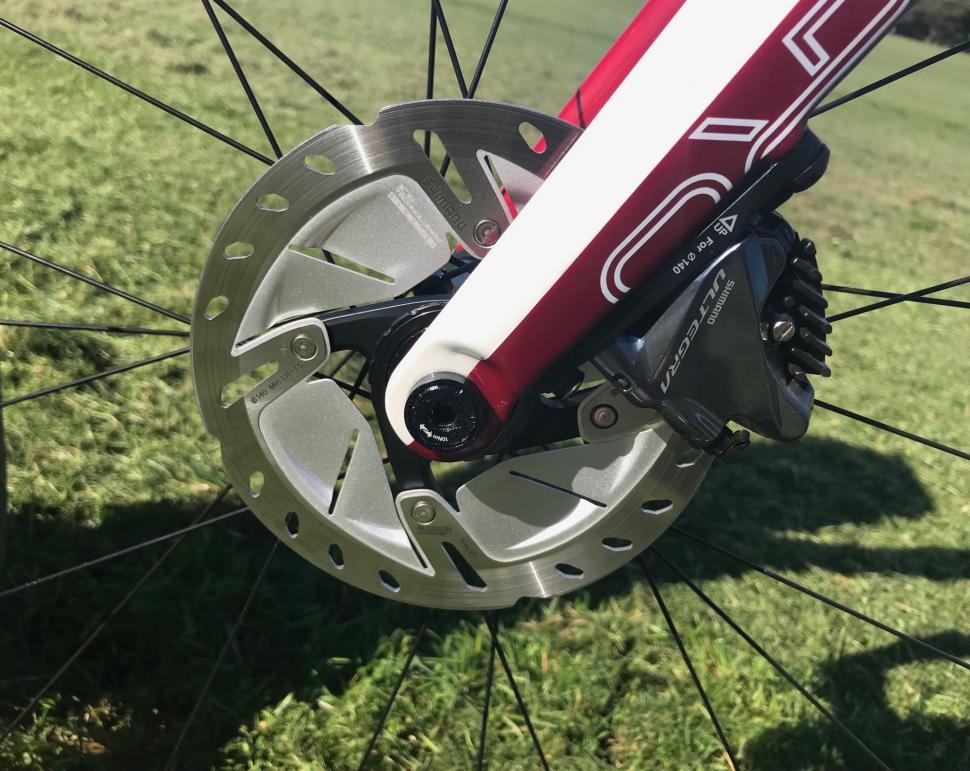 Orro Venturi first ride front disc brake  - 1.jpg