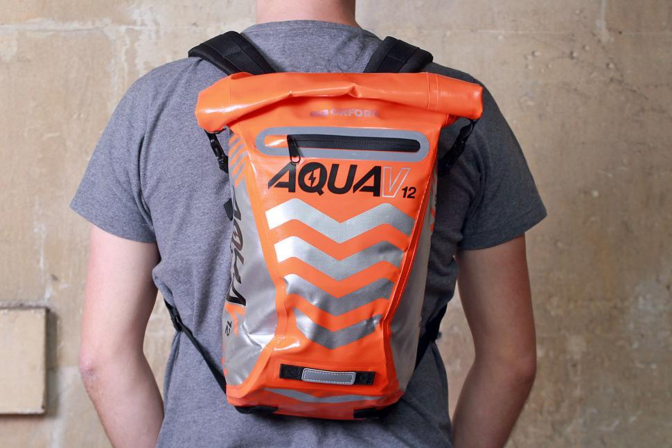 Oxford Aqua12 Backpack Orange - worn.jpg