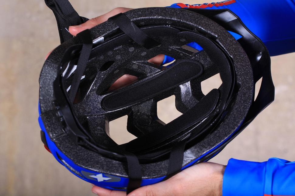 Oxford Metro-V Helmet Matt Blue - inside.jpg
