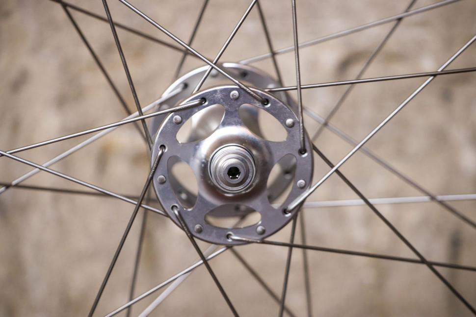 Pacenti Cycle Design Brevet Wheel Set - fron hub.jpg