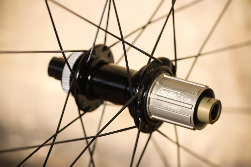 Pacenti Forza-C 30mm Disc Clincher wheels - rear hub 2.jpg