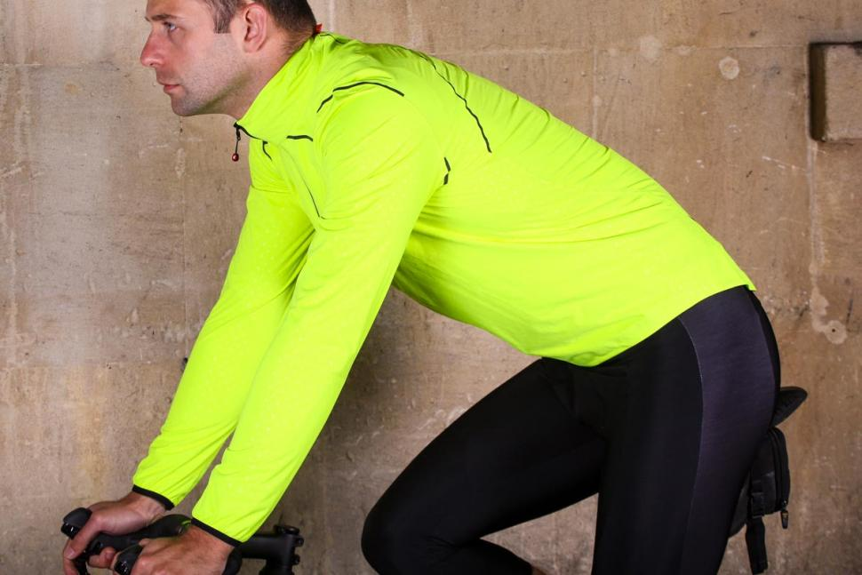 Pactimo Torrent Stretch Waterproof Jacket - riding.jpg