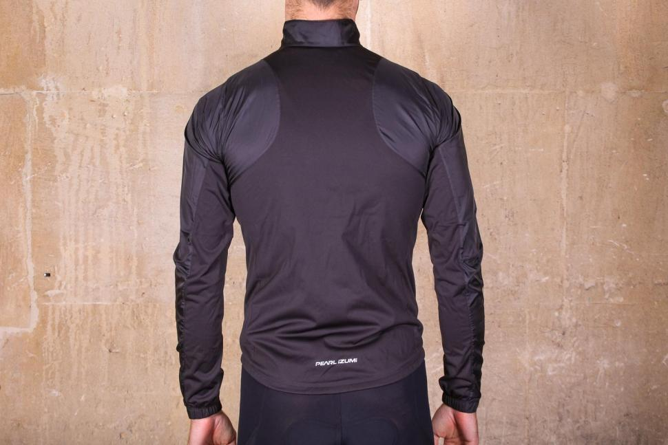 Pearl Izumi Elite Pursuit Hybrid jacket - back