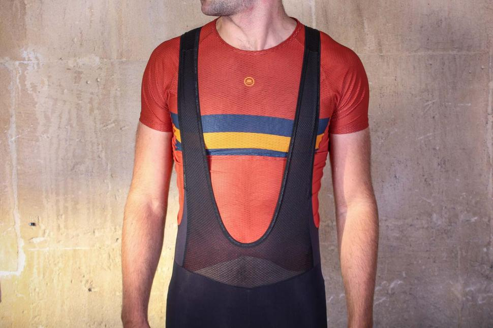 Pearl Izumi Pursuit Hybrid Cycling Bib Tight - straps front.jpg