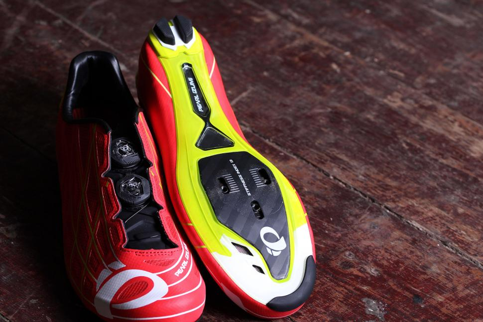 Pearl Izumi Pro Leader III SPD/SL Shoes Red / Yellow Size 48 Unisex