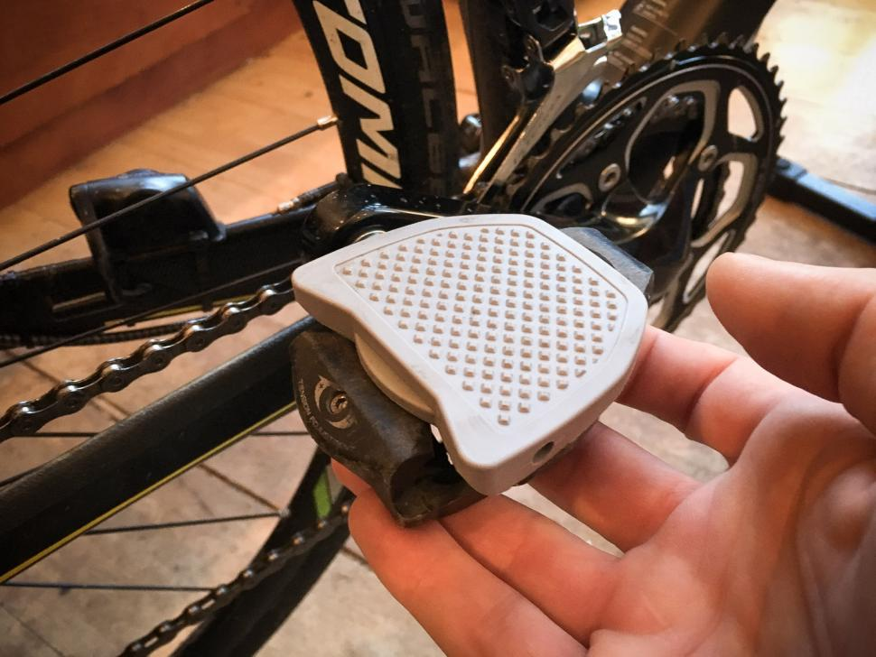 6e33c04d55e Review: Pedal Plate SPD-SL compatible | road.cc
