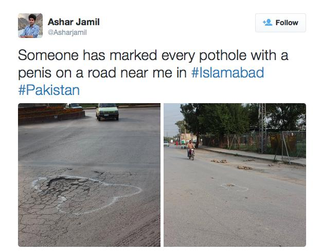 Penis potholes in Pakistan.png