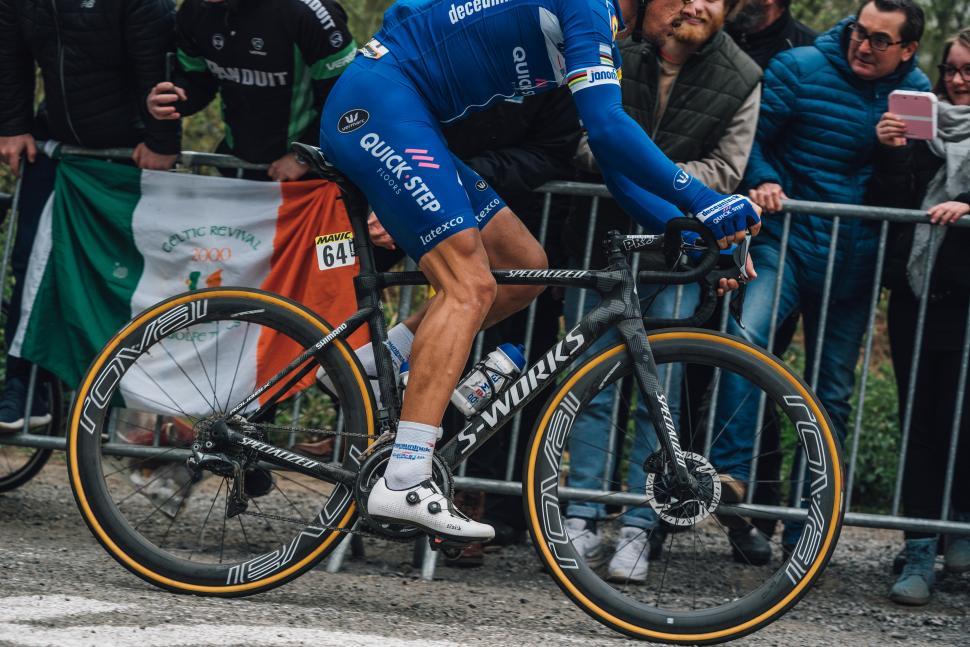 Philippe Gilbert's Paris-Roubaix winning Specialized Roubaix