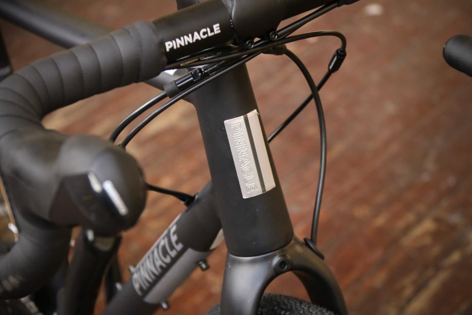 Pinnacle Arkose Three - head tube badge.jpg