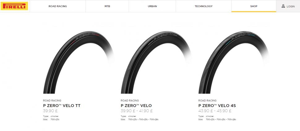 Pirelli launch online shop for their new tyres and announce Castelli ... f0652a24c