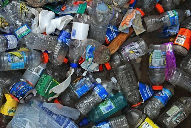 Plastic bottles (CC licensed by Samuel A Love via Flickr).jpg