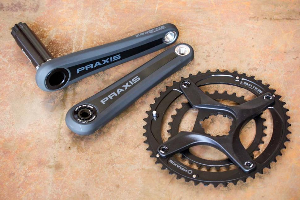 Praxis Zayante Carbon M30 Direct Mount chainset