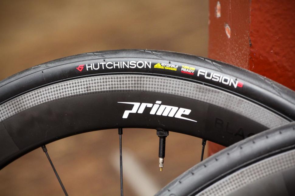 Prime BlackEdition 50 Carbon Wheelset - tyre