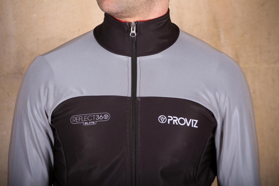 Proviz Reflect 360 Elite Mens Cycling Jacket - chest.jpg