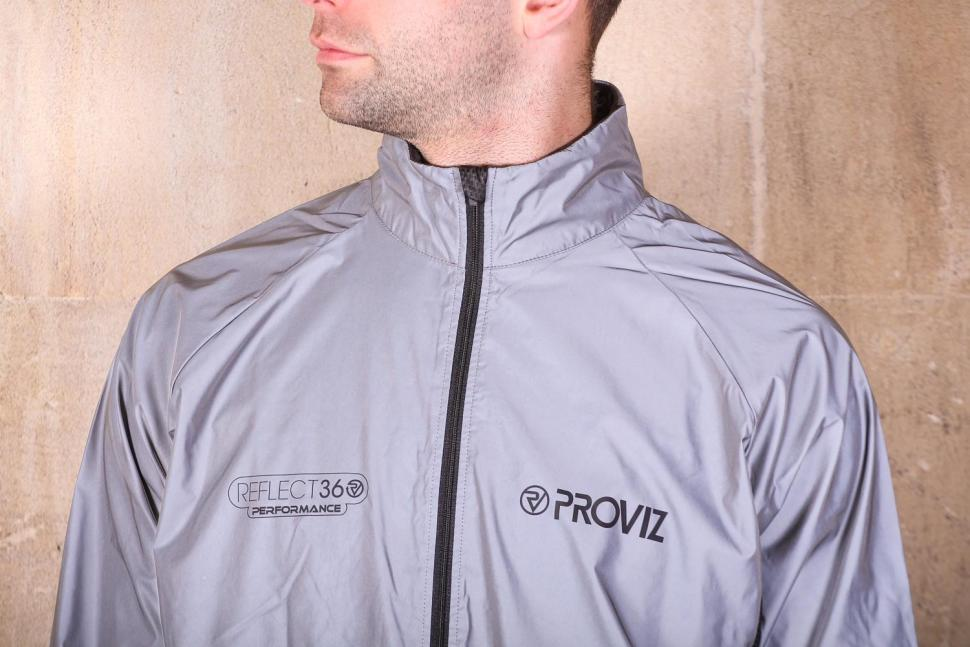 Proviz REFLECT360 Mens Performance Cycling Jacket - chest.jpg