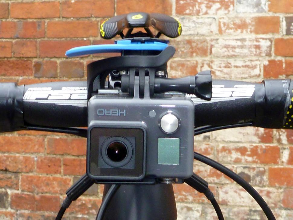 Quad Lock Out Front Mount and GoPro Adapter - Go Pro from front.jpg