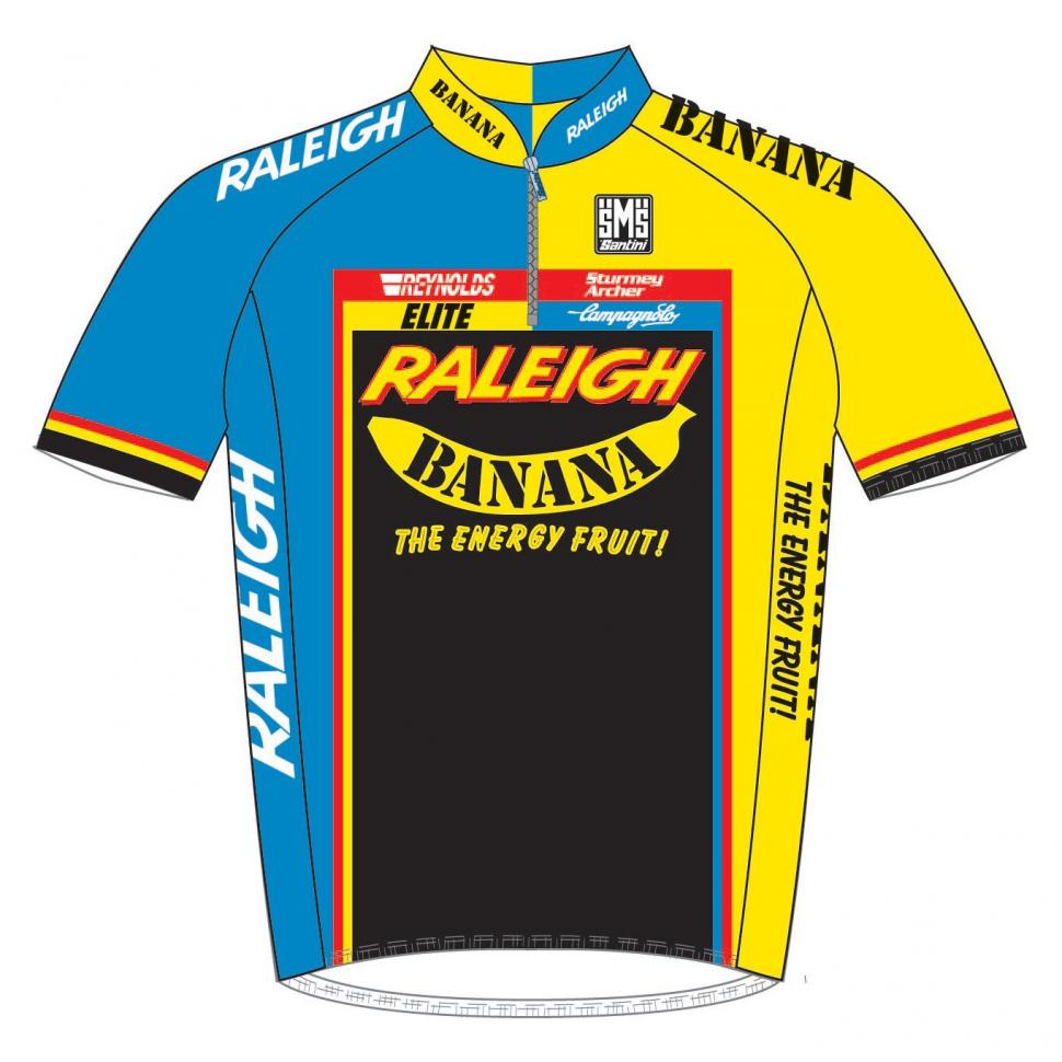 Raleigh Banana retro kit released – £10 donation to the Dave Rayner ... 9227d532b