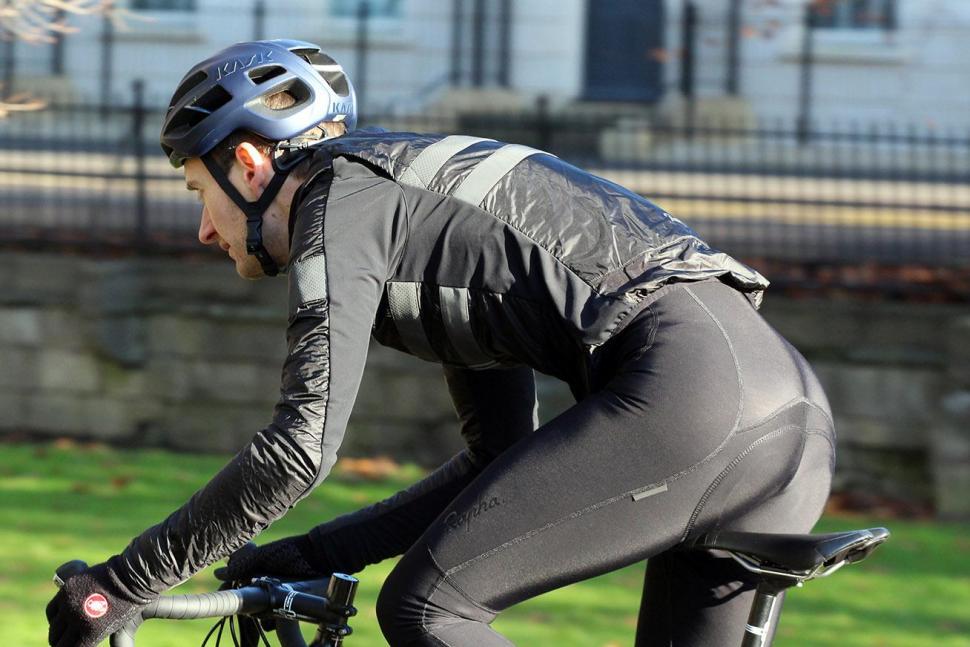 Rapha Brevet Insulated Jacket - riding.jpg