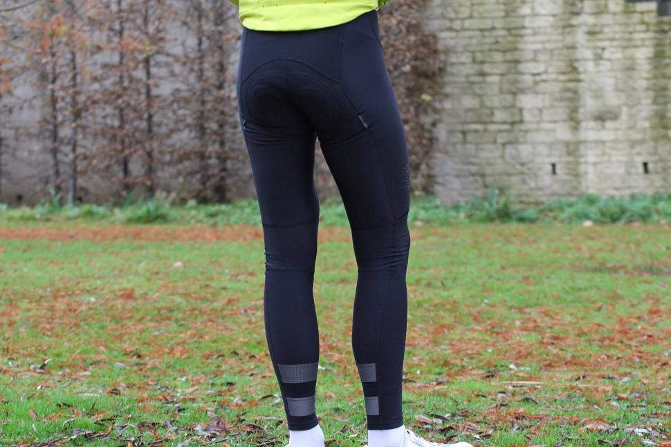 Rapha Brevet Winter Tights with Pad - back.jpg