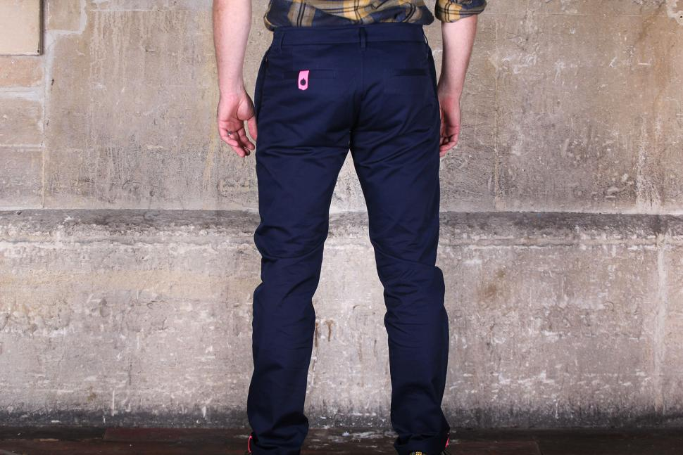 Rapha Cotton Trousers - back.jpg