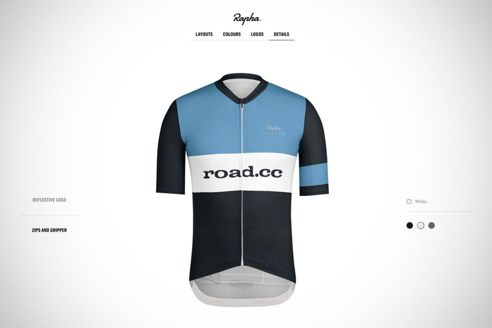 Rapha launches custom kit with user-friendly online design system ... d8b0a7d48