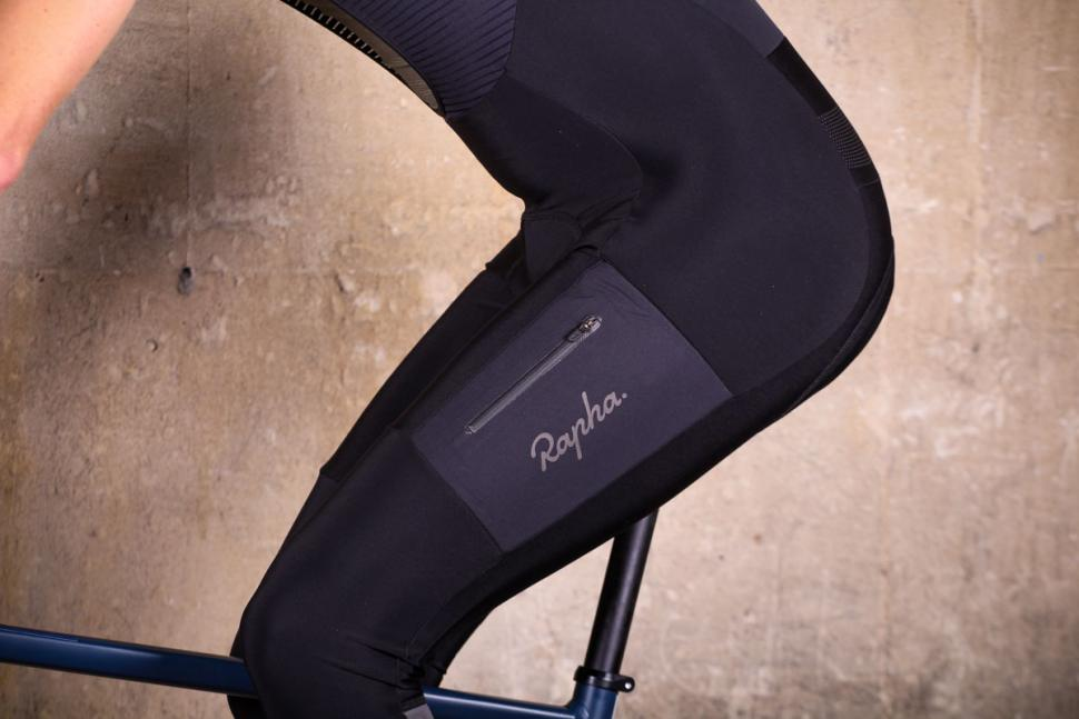 Rapha Explore Cargo Winter Tights with Pad - riding detail 1.jpg