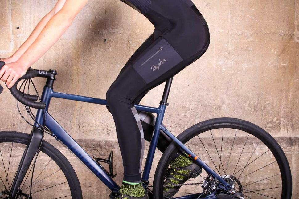 Rapha Explore Cargo Winter Tights with Pad - riding.jpg