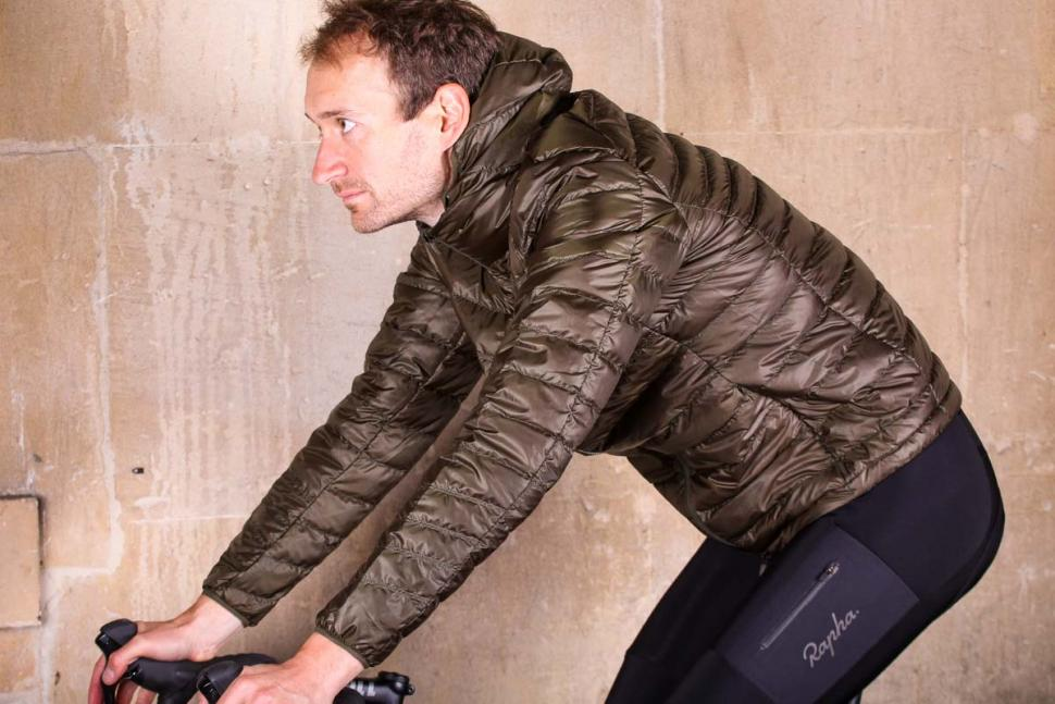 Rapha Explore Down Jacket - riding.jpg