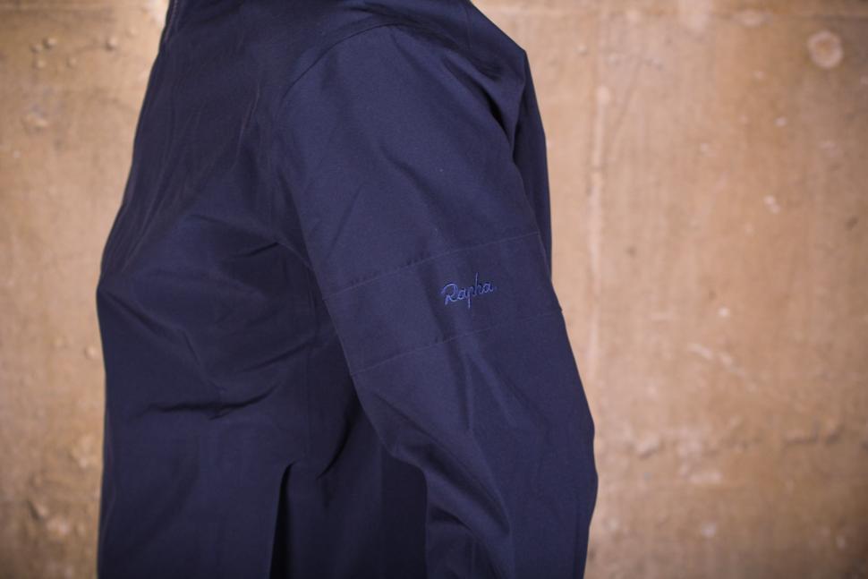 Rapha Hooded Rain Jacket II - sleeve logo.jpg