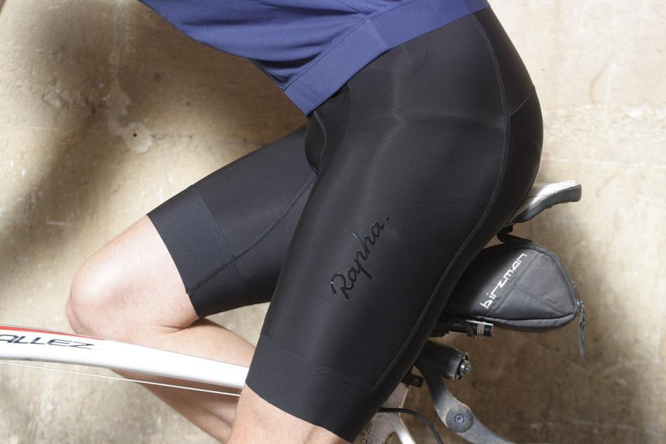 Rapha Mens Core Bib Shorts - riding.jpg