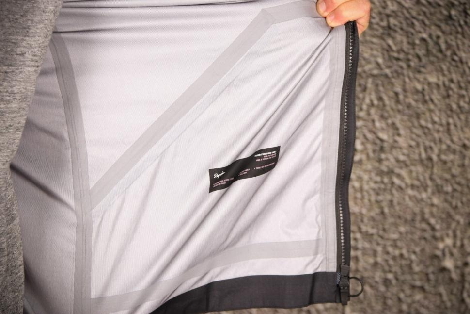 Rapha Packable Waterproof Jacket - taped seams.jpg