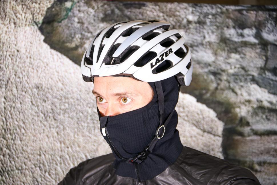Rapha Pro Team Insulated Gore-Tex Jacket - hood under helmet 2.jpg