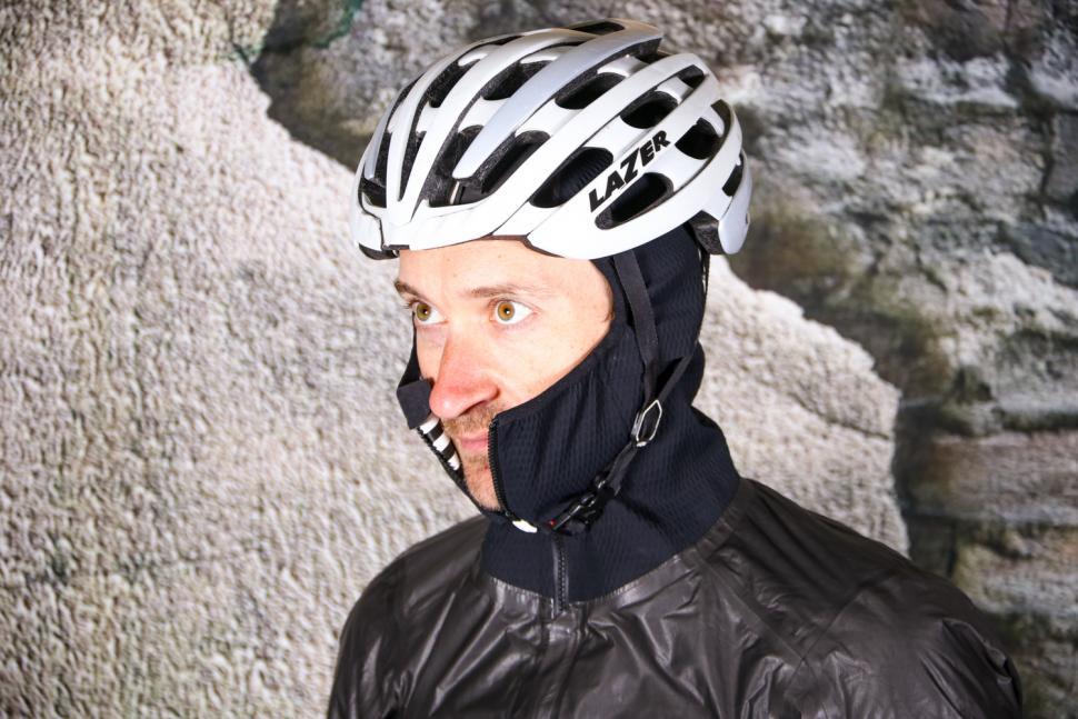 Rapha Pro Team Insulated Gore-Tex Jacket - hood under helmet.jpg