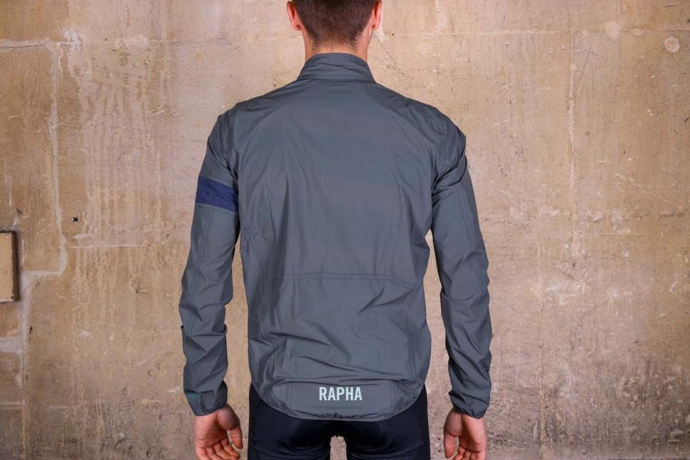 Rapha Pro Team Light weight Shadow Jacket - rear.jpg