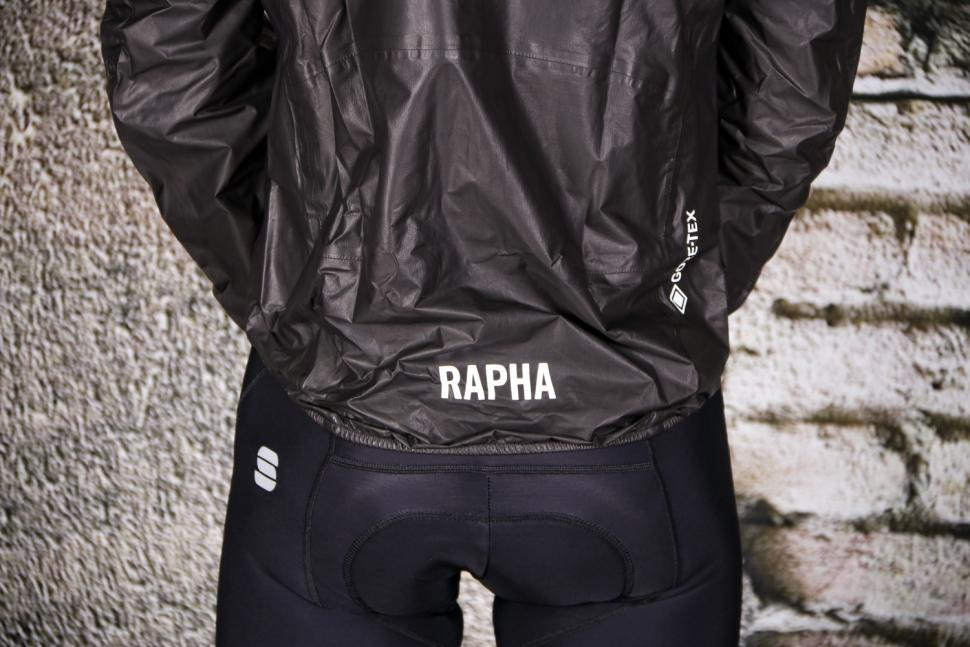 Rapha Pro Team Lightweight Gore-Tex Jacket - back tail.jpg