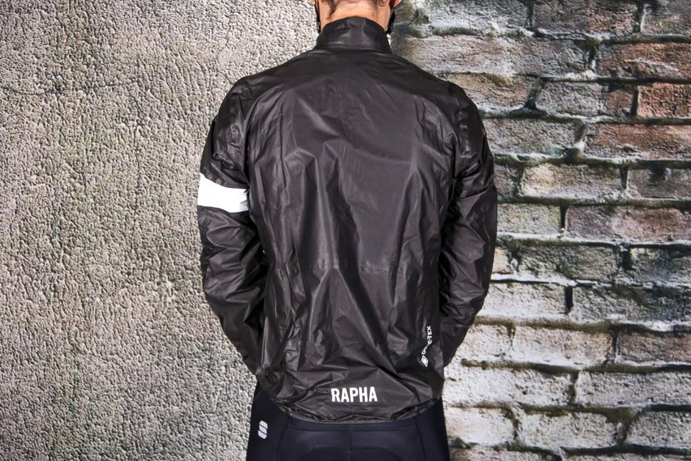 Rapha Pro Team Lightweight Gore-Tex Jacket - back.jpg