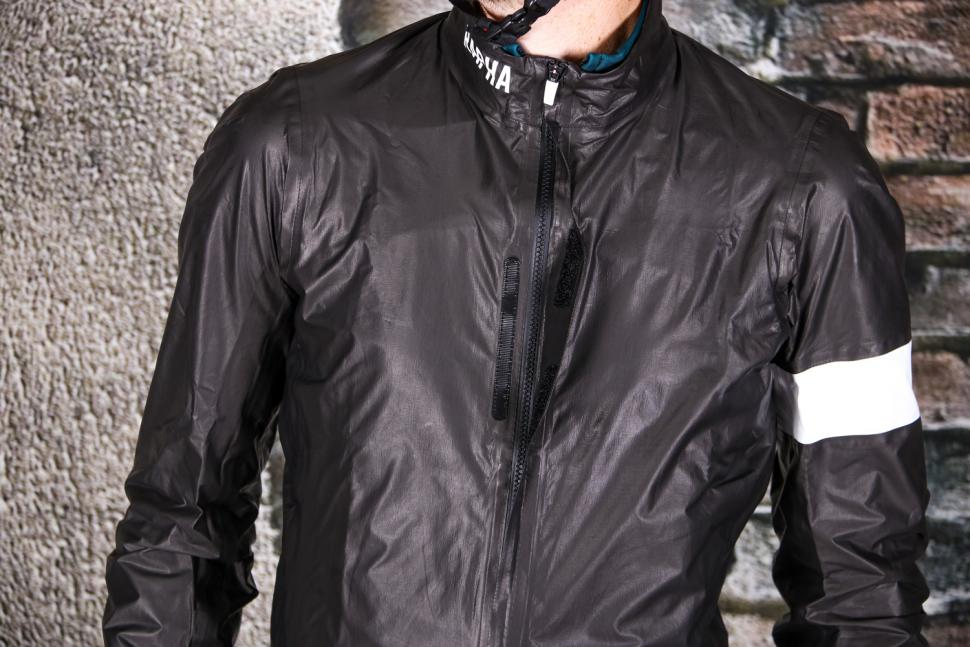 Rapha Pro Team Lightweight Gore-Tex Jacket - velcro flap.jpg