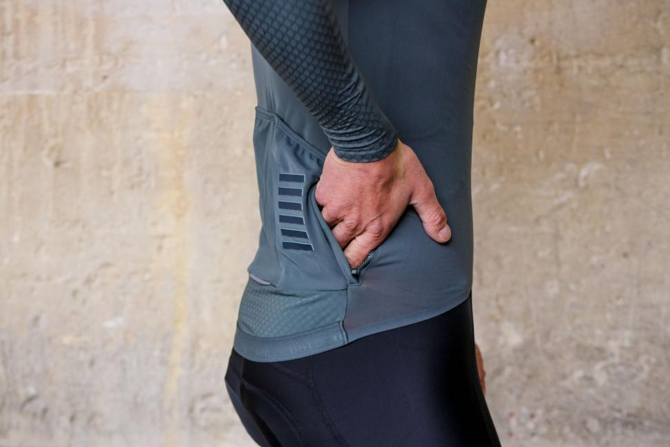 Rapha Pro Team Long Sleeve Aero Jersey - pocket zipped.jpg