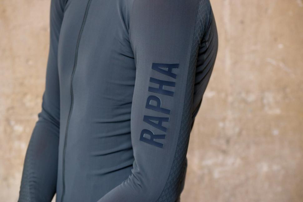 Rapha Pro Team Long Sleeve Aero Jersey - sleeve logo.jpg