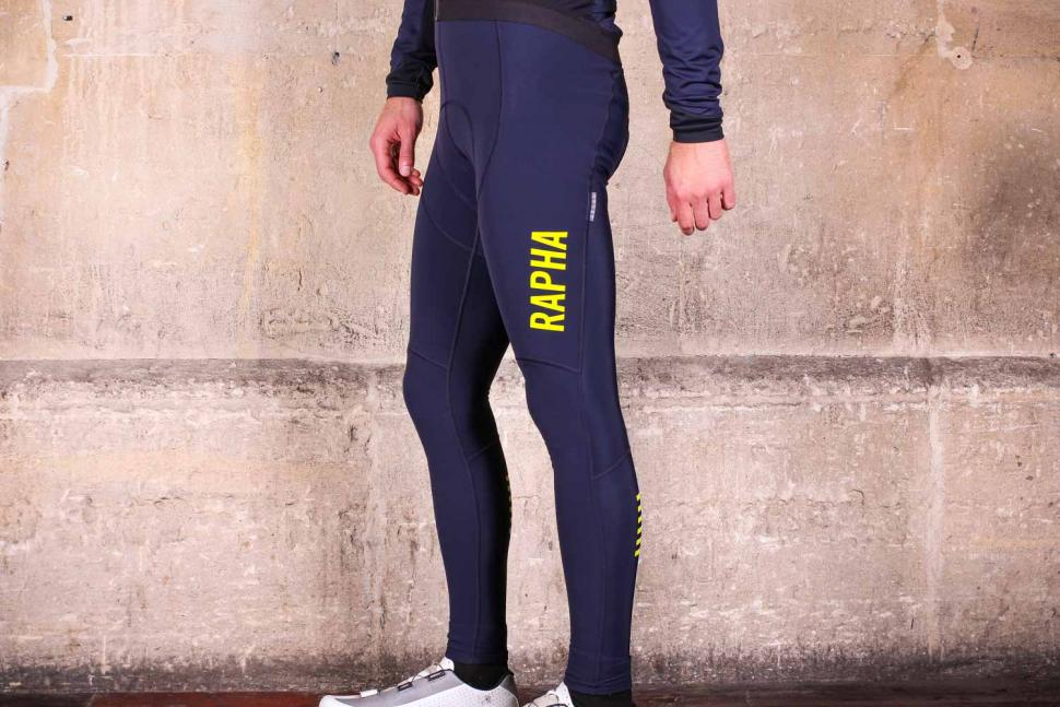 Rapha Pro Team Winter Tights with Pad II - side.jpg