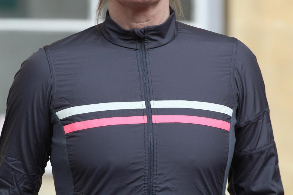 Rapha Womens Brevet Long Sleeve Windblock Jersey - chest.jpg