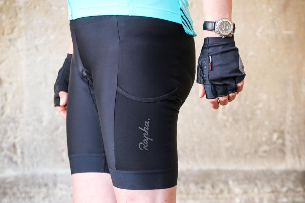 Rapha Womens Core Cargo Shorts - side.jpg
