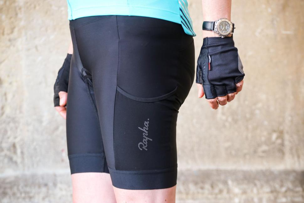 Rapha Womens Core Cargo Shorts - side.jpg