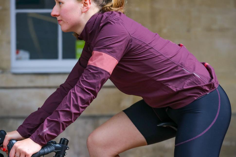 Rapha Women's Lightweight Shadow Jacket - riding.jpg