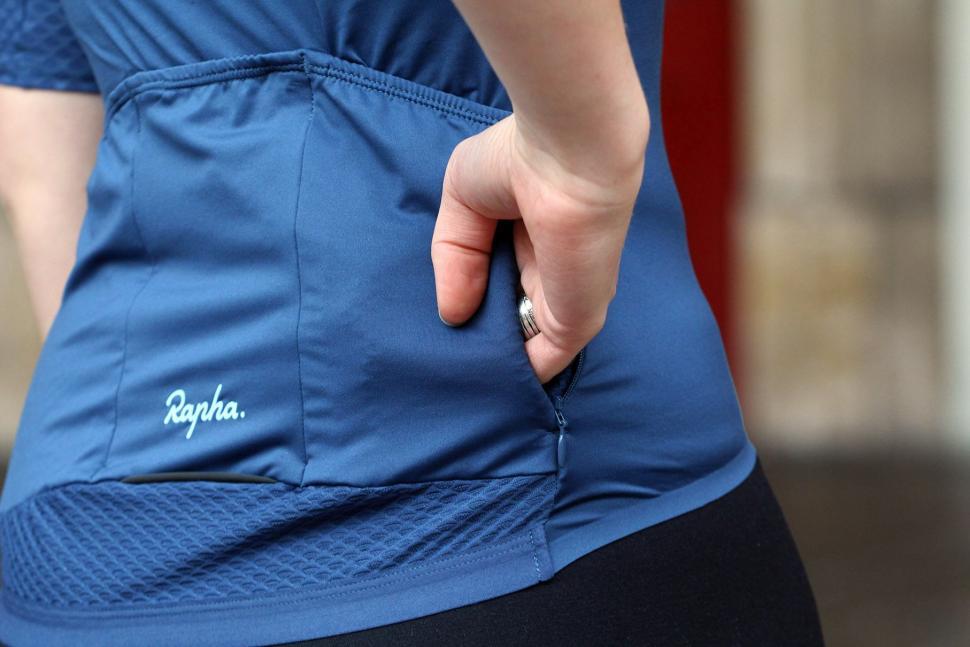 Rapha Womens Souplesse Aero Jersey - pocket zipped.jpg