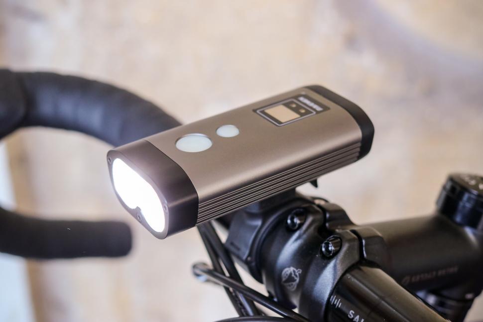 Helmet light support compatible with all models Ravemen light bike