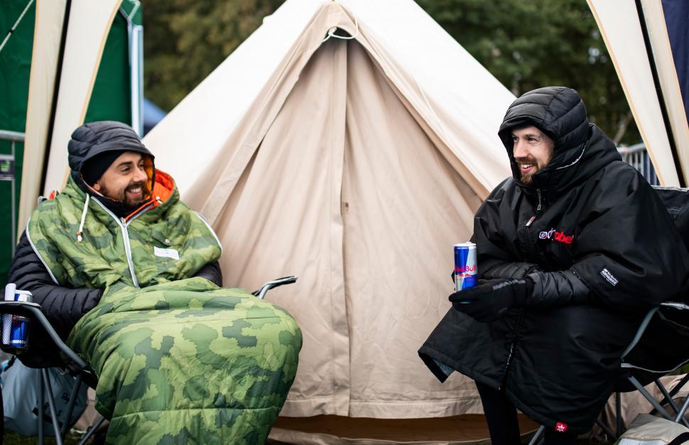 red bull timelaps tent