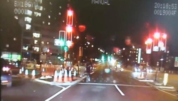 Red light jumping cyclist (via West Midlands Police Road Harm Reduction Team on Twitter).PNG