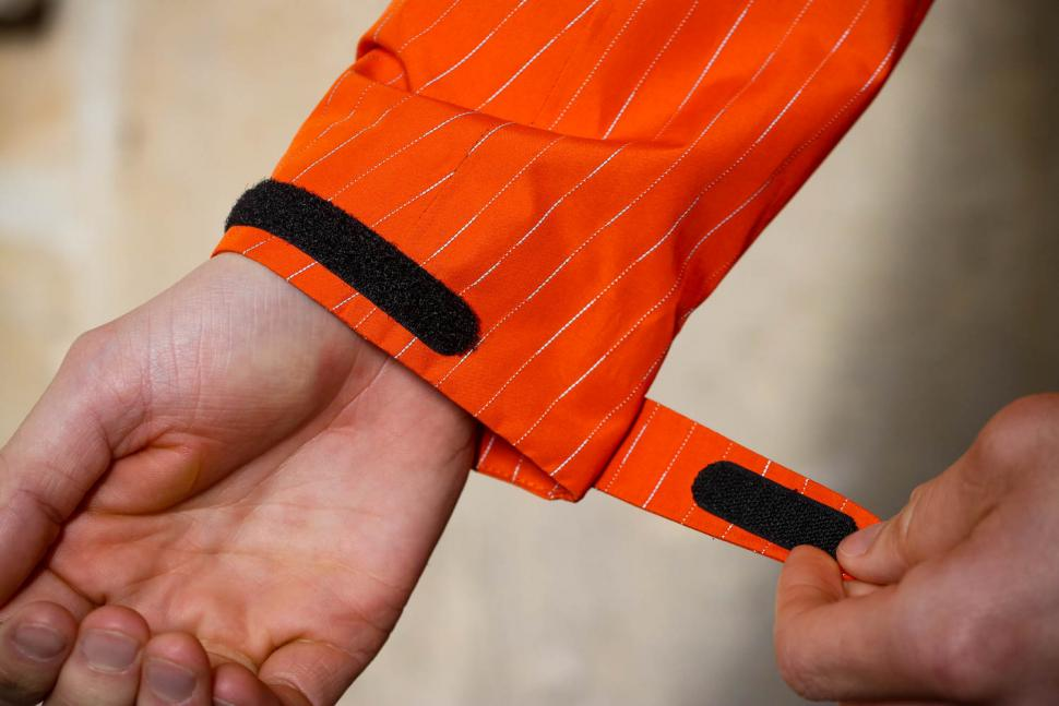 Resolute Bay Orange Reflective Commuter Jacket - cuff.jpg