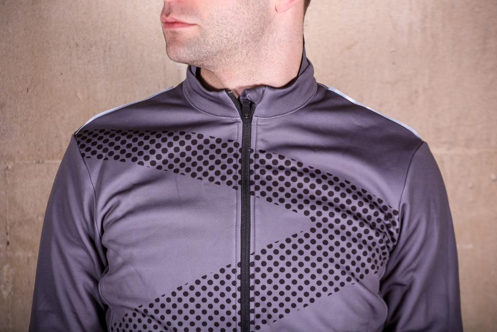 Ribble Nuovo Mens Long Sleeve Thermal Jersey - chest.jpg